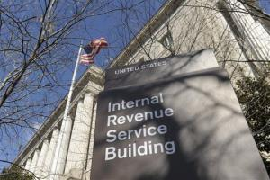 This March 22, 2013, file photo, shows the exterior of the Internal Revenue Service building in Washington.