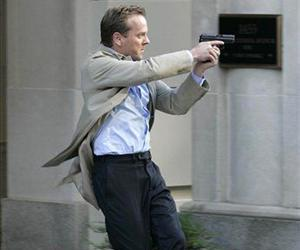 Kiefer Sutherland stars as Jack Bauer in a scene from the seventh season of 24.