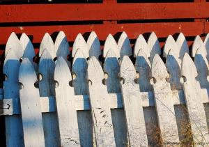 Hard times behind picket fences.