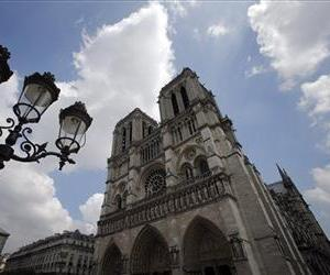 This May 2 photo shows Notre Dame cathedral in Paris.