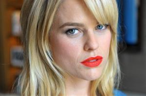 Alice Eve poses for a portrait session at the Corinthia Hotel in London on Saturday, May 6, 2013.