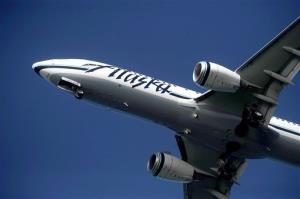 Passengers were never in any danger, Alaska Airlines says.