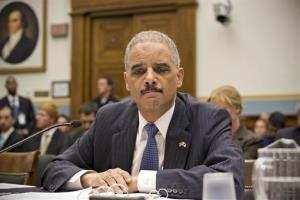US. Attorney General Eric Holder, the nation's top law enforcement official, pauses while testifying before the House Judiciary Committee earlier this month.