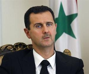 This Wednesday, Aug. 19, 2009 file photo shows Syrian President Bashar Assad.