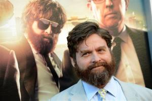 Zach Galifianakis arrives at the LA Premiere of The Hangover: Part III at the Westwood Village Theatre on Monday, May 20, 2013 in Los Angeles.
