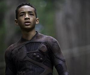 This film publicity image released by Sony - Columbia Pictures shows Jaden Smith in a scene from After Earth.