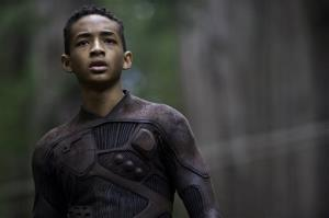Jaden Smith in a scene from After Earth.
