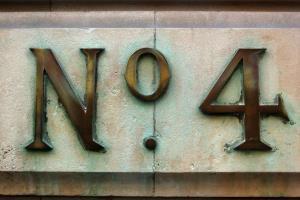 No 4s - and no 13s.