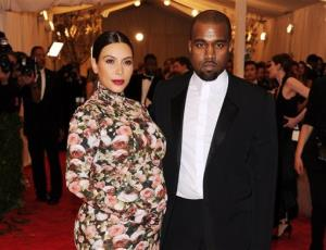 Kim Kardashian and Kanye West attend The Metropolitan Museum of Art's Costume Institute benefit celebrating PUNK: Chaos to Couture on Monday, May 6, 2013, in New York.