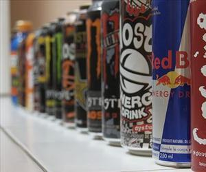 Energy drinks.