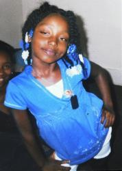 This undated family photo shows Aiyana Stanley-Jones, 7, who was shot and killed Sunday, May 16, 2010, by a shot from a Detroit police officer during a raid to arrest a murder suspect.