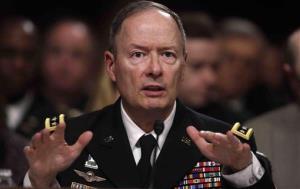 Gen. Keith B. Alexander testifies on Capitol Hill.