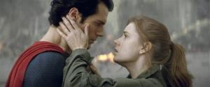 Henry Cavill as Superman, left, and Amy Adams as Lois Lane in Man of Steel.