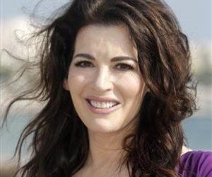 In this Oct. 9, 2012 file photo, English food writer, journalist and broadcaster Nigella Lawson poses during the 28th MIPCOM in Cannes, southeastern France.