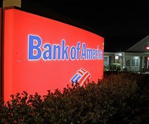 A Bank of America branch is seen in this file photo.