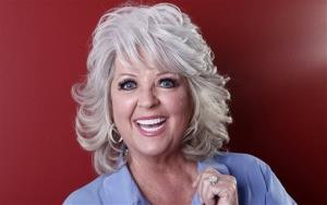 Paula Deen posing for a portrait in New York last year.