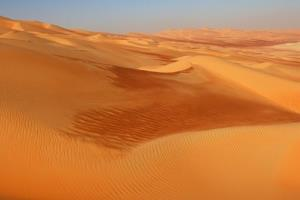 File photo from the Empty Quarter desert in Saudi Arabia.