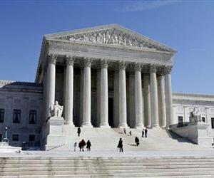 This March 5, 2009, file photo shows the US Supreme Court building in Washington.