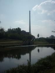 The Yekaterinburg TV tower.