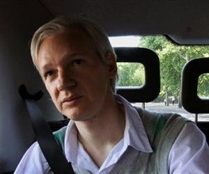 This film publicity image released by Focus World shows Julian Assange in a scene from the documentary, We Steal Secrets:  The Story of WikiLeaks.