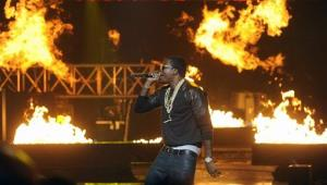 Meek Mill performs during the BET Hip-Hop Honors at Boisfeuillet Jones Atlanta Civic Center in September 2012, in Atlanta.