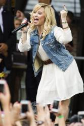 Demi Lovato performs on ABC's Good Morning America, Friday, June 28, 2013, in New York.