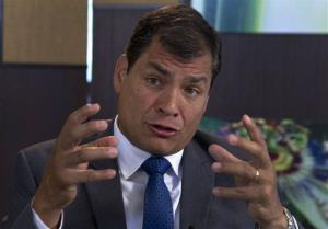 The Ecuadorean consul who issued a travel document to Snowden will be sanctioned, President Rafael Correa,says.