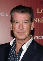 Actor Pierce Brosnan attends a screening of Love Is All You Need presented by The Cinema Society & Disaronno on Wednesday April 24, 2013 in New York.