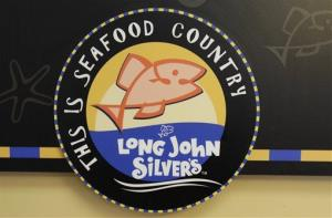 A Long John Silver's restaurant sign is shown in Mountain View, Calif., Tuesday, Jan. 18, 2011.