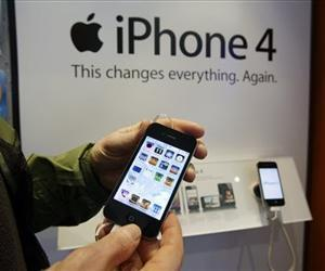 An iPhone is seen in this file photo.