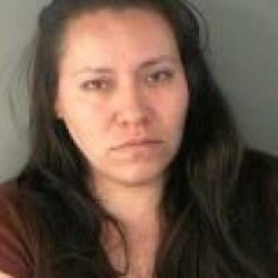 Zoraida Magali Conde Hernandez, in her police photo.
