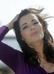 In this Tuesday, Oct. 9, 2012 file photo, English food writer, journalist and broadcaster Nigella Lawson poses.