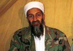 This undated file photo shows Osama bin Laden in Afghanistan.