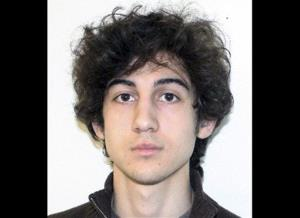 This file photo provided Friday, April 19, 2013 by the Federal Bureau of Investigation shows Boston Marathon bombing suspect Dzhokhar Tsarnaev.