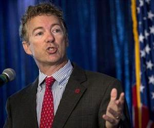 Sen. Rand Paul, R-Ky. speaks in Washington, June 12, 2013.