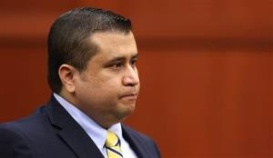 George Zimmerman sits in the courtroom during his trial.