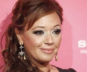 FILE - In this April 22, 2010 file photo, actress Leah Remini arrives at the Us Weekly Hot Hollywood Style Celebration in Los Angeles.