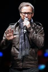 Donnie Wahlberg of New Kids On The Block speaks during the announcement of The Package Tour, Tuesday, Jan. 22, 2013.
