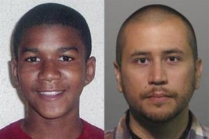 This combo image made from file photos shows Trayvon Martin, left, and George Zimmerman.