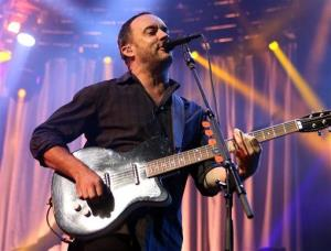 Dave Matthews of The Dave Matthews Band.