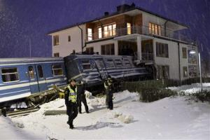 The train crash—which wasn't caused by the cleaner.