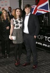 Emma Roberts and Evan Peters attend the Topshop Topman LA Opening Party At Cecconi's in Los Angeles, on Wednesday, Feb. 13, 2013 in Los Angeles.