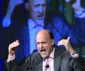 Jim Cramer, host of CNBC's Mad Money, speaks about social media during a financial services technology conference, June 15, 2011 in New York.