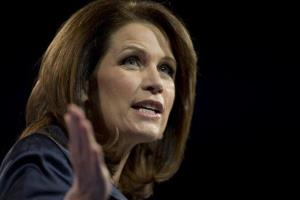 In this March 16, 2013 file photo, Rep. Michele Bachmann, R- Minn., speaks at the 40th annual Conservative Political Action Conference in National Harbor, Md.