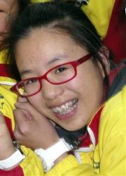 Ye Meng Yuan poses for photos with other classmates in China in this file photo.