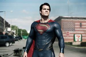 This film publicity image released by Warner Bros. Pictures shows Henry Cavill as Superman in Man of Steel.