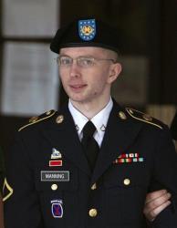 Army Pfc. Bradley Manning.