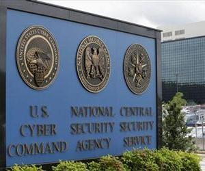 This June 6, 2013, file photo shows the sign outside the National Security Administration (NSA) campus in Fort Meade, Md.