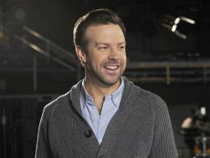 Jason Sudeikis on the set of Saturday Night Live. He won't be back.