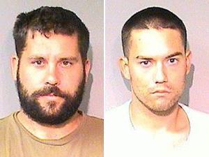 Suspects Ryan Balletto, 30, and Patrick Pearmain, 24.